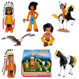 Disney Bullyland - Yakari Figuren Spielfiguren,Tortenfiguren