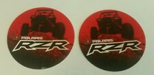 "RZR POLARIS STICKERS DECALS 4"" oval RACING FREE SHIPPING atv offroad utv mint"