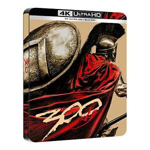 Warner Bros 300 Edizione Steelbook da Collezione 4K Ultra Hd + Blu Ray