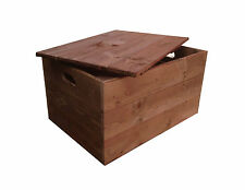 Crates4You - Rustic Wooden Crate Box With Lid
