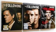 The Following Season 1, 2 & 3 Complete Series DVD TV Shows BRAND NEW