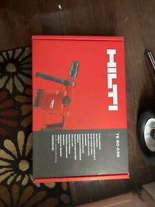 HILTI TE 60-A36 ,  BRAND NEW IN BOX TOOL ONLY.(OEM)
