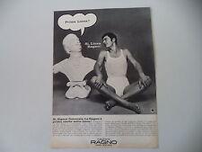 advertising Pubblicità 1968 MAGLIERIA RAGNO