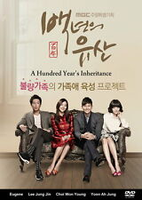 A Hundred Year's Inheritance - 2013 Korean DVD - English Subtitle