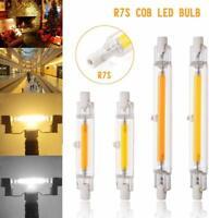 LED R7S 78mm 118mm AC220V Glasröhre Glühbirne COB Birne Ersetzen Halogenlampe