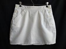 Mountain Hardwear Womens Size 4 Organic Cotton Hemp Mini Skirt White Lightweight