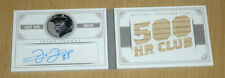 2014 Panini National Treasures basebal bat relic autograph BOOK Frank Thomas 2/5