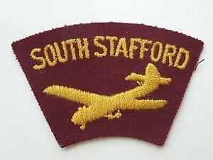 South Stafford Glider Cloth Shoulder Title