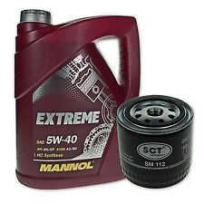 5 Liter Mannol SAE 5W-40 Extreme Motoröl + Ölfilter SM 112 von SCT Germany