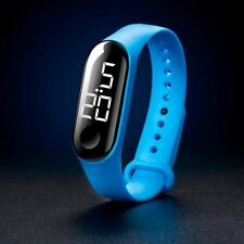 Men Women Casual Sports Watch LED Wristwatch Candy Color Watches for Children