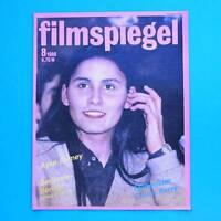 DDR Filmspiegel 8/1988 Chuck Berry Ewald Balser E.T. Ayse Romey Berlinale I