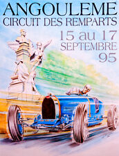 Remparts 1995 CORSA POSTER Stampa A3