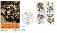 Germany 1983 FDC 1188-91c Kwiaty Blumen Flowers