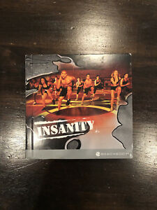 Insanity Body Workout Program BeachBody 10 Disc DVD Complete Set Good Used