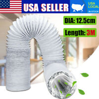 Universal Portable Air Conditioner Exhaust Hose - 5 inch Width, Extra 118'' Long