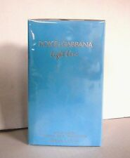 Dolce & Gabbana Light Blue 200ml Eau de Toilette Spray WOMAN NEU in FOLIE
