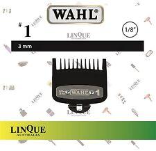 "WAHL Clipper Premium Metal Attachment comb Guide No. #1 3 mm 1/8"" Cutting Guide"