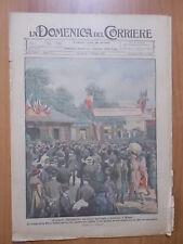 DOMENICA del CORRIERE 17/1921 Fiera di Milano, Bussolengo, Pompieri ad Eton