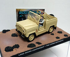LAND ROVER LIGHTWEIGHT BOND 007 THE LIVING DAYLIGHTS ALTA TENSION 1/43 FABBRI