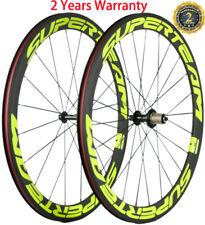 Superteam Carbon Wheelset 50mm Carbon Bicycle Wheels 23mm Width Clincher 700C