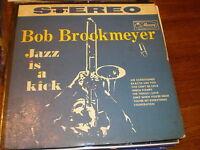 Bob Brookmeyer LP Jazz Is A Kick WHITE LABEL PROMO