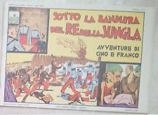 CINO E FRANCO 1 SOTTO LA BANDIERA DEL RE DELLA JUNGLA (Nerbini, 1973) Anastatica