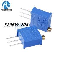 10PCS 3296W-204 3296 W 200K ohm Trim Pot Trimmer Potentiometer 3296W  204
