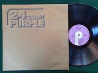 DEEP PURPLE - 24 CARAT PURPLE - near mint Aust Press