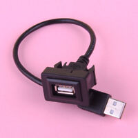 Auto Einbau Verlängerungskabel USB Stecker Male Auf Buchse Adapter Für Toyota
