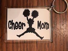 Cheerleading Keychain with Cheer MOM 10