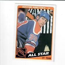 1984 Topps All Star #154 Wayne Gretzky Hockey Card.  Shipping .70
