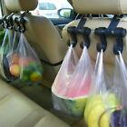 USA Car Seat Back Headrest Dual Hook Holder Plastic Hanger For Bag Purse Clothes
