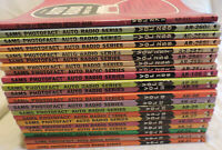Sams Photofact Auto Radio Lot 11 of books #251-271 & 21-106 assortment