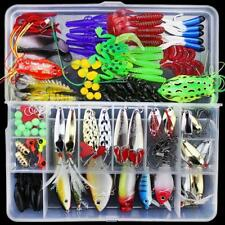 Fishing Lures for Freshwater and Saltwater 141 Pcs Fishing Lure Set Plastic Box