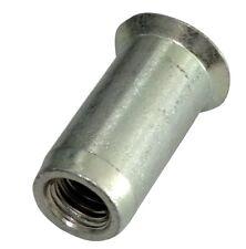 5x inserts à sertir M6 L19mm Ф9.1mm écrou rivet conique acier zingué