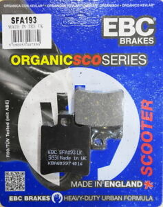 EBC Disc Brake Pads (SFA193) SFA 193 FA 193 APRILIA MBK PIAGGIO YAMAHA
