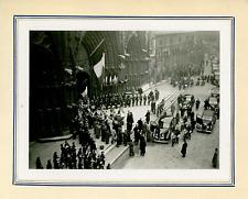 France, Lyon, 1940, défilé militaire, maréchal Pétain              Vintage silve