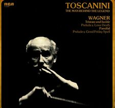 LP 8528 TOSCANINI  WAGNER TRISTAN E ISOLDE  PARSIFAL