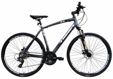 Tiger Legend 3.0FS Gents Alloy 700C 21 Speed Sports Hybrid Bike Bicycles 52 cm