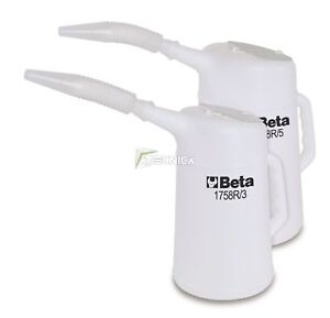 Envase Contenedor Jarra Para Líquidos beta 1758R/5 IN de Plástico 5 Lt