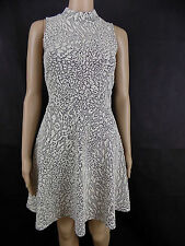 Polyester Crew Neck Skater Dresses Size Tall for Women
