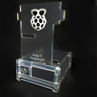 Computer Clear Case Box Transparent Acrylic Cover for Raspberry Pi 2 Model B B+