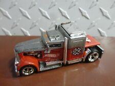 Loose Hot Wheels RLC Silver/Orange 40 Years of Design Convoy Custom w/RR's