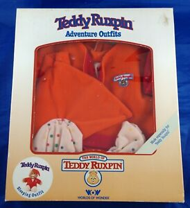 WOW Teddy Ruxpin Sleeping Outfit New In Box