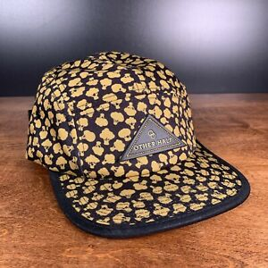 Other Half Cap - Patch Logo Dark Yellow & Black Hat with Adjustable Clip Back