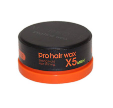 3 x Morfose Pro Hair Wax X5 Men 150ml Strong Hold Haarwachs Haar Wax