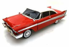 1958 Plymouth Fury Red Auto World Christine AWSS102 1/18 diecast model car