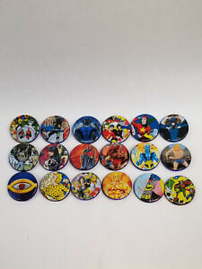 Lot of Mattel DC Universe Classics Collector Buttons - Batman Raven Zatanna etc.
