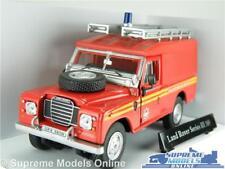 LAND Rover Serie 3 MODELLO AUTO Autopompa Servizio di salvataggio scala 1:43 Cararama K8