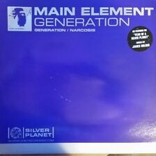 """Main Element  """"Generation / Narcosis"""" * Silver Planet Recordings – SILVER033"""